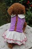 Samt-Hundeverdrahtungs-Kleid-Haustier-Produkte
