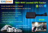 Perseguidor del GPS de las motocicletas del vehículo del sensor RFID del combustible del localizador de Gapless GPS