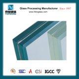 建築構造のための卸しで薄板にされたガラスの製造