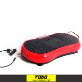 Machine d'exercice de plaque de vibration de corps de Todo d'écran LCD avec Bluetooth