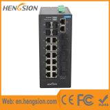 18 Port+ 4 기가비트에 의하여 처리되는 산업 이더네트 네트워크 스위치