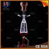1 Waterpijp van de Pijp van de Hand van het Glas van de Rode Kleur van de reeks de Enige Rokende
