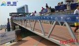 중국은 손잡이지주를 가진 알루미늄 합금 현문 사다리를 제조했다