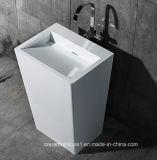 Bassin debout de salle de bains de Corian de modèle moderne
