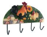 Harz-Blumen-Metallhaken
