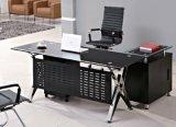 Bureau en verre moderne de directeur de meubles de bureau (HX-GL036)