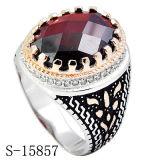 De mensen bellen Nieuwe Modellen 925 de Zilveren Ring van CZ met Steen