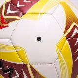 Команда 4 регулярно размера 5 тренируя прочный шарик футбола