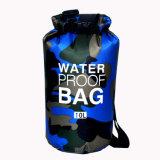 Pacchetto impermeabile dell'oceano del sacchetto asciutto di marchio dell'oceano del pacchetto della tela incatramata esterna impermeabile su ordinazione del PVC