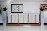 Balcón de acero galvanizado decorativo de alta calidad 23 que cercan con barandilla de la aleación de Haohan Alluminum