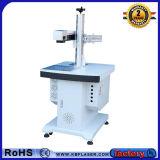 máquina da marcação do laser da fibra da tabela 30W para o metal
