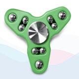Eindeutiger Tri-Spinner 9-Ball Handspinner-Unruhe-Spielzeug-Druck-Helfer
