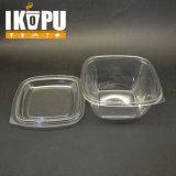 Großhandelsplastikbehälter-großer transparenter Salat-Filterglocke-Plastik