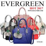 Sacchetto di Tote della signora cuoio genuino del progettista della borsa delle 2017 di mano del sacchetto donne di modo (EMG4771)