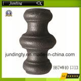 단철 담과 문을%s 장식적인 둥근 무쇠 또는 강철 고리