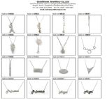 Конструкция ключевой картины для ювелирных изделий способа ожерелья 925 женщины серебряных (N6660)