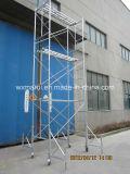 Système approuvé sûr d'échafaudage de bâti de GV pour la construction