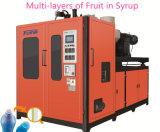 시럽 병에 있는 과일을%s 다중 층 중공 성형 기계