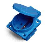 3 Pin enchufe de socket industrial de 16A/de 32A 110V/de 220V Schuko