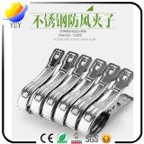 Clip moyen et petit d'acier inoxydable ou clip d'essuie-main