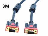 cable 3+9 del VGA de los 3m