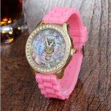 Wristwatch кварца кристаллический каменных женщин