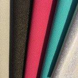 Shinny el cuero del PVC del PUNTO para el bolso/la tapicería