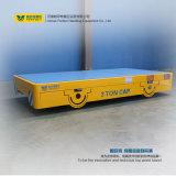Motorisierte flache Karre, damit Bucht sterben Transport-Karre auf Kleber-Fußboden bellt