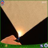 Tessuto impermeabile che ricopre il tessuto ignifugo del poliestere di mancanza di corrente elettrica per la tenda