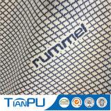 Tela hecha punto poliester antiestático del colchón 600d