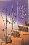 Haohan modificó la barandilla de acero galvanizada australiana europea elegante 2 de la escalera para requisitos particulares