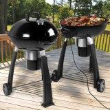 Perfection 2 dans 1 gril électrique/charbon de bois de BBQ