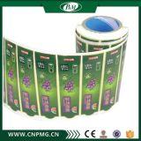 Etiqueta de la etiqueta de BOPP en rollo con el mejor precio