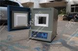 forno de mufla do laboratório 1300c com elemento de aquecimento do carboneto de silicone
