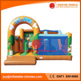 コンボ遊園地または膨脹可能な跳躍のための新しく膨脹可能な城(T3307)