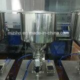 반 자동적인 액체 샴푸 로션 및 풀 충전물 기계