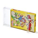 Freie transparente ursprüngliche 8-BitNes Spiel-Kasten Cib Spiel-Plastikhaustier-Schoner für Nintendo-Spiel-Kästen