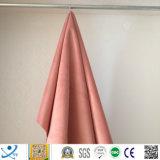 Tela textil Tela de poliéster al por mayor de terciopelo suave grabado en relieve de tela de tapicería de cortina, 100% de sombreado