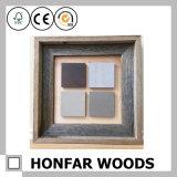 Frame rústico colorido da foto do retrato da madeira contínua para a decoração de Salão do hotel
