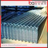 Azulejos galvanizados acanalados de la hoja que cubren/de material para techos