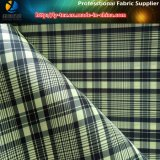 Kationisches Two-Tone Check-Gewebe, (TN3013), Polyester-Taft-Plaid