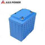 Paquete recargable 12V 120ah de la batería 26650 LiFePO4 del ciclo profundo con la caja del ABS