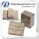 Het Segment van de Diamant van het Blad van de Werktuigmachine van de Snijder van het graniet Voor de Plak van de Steen
