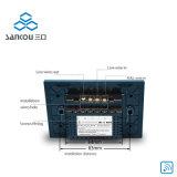 interruptor elegante de la pared del tacto LED del interruptor teledirigido de 2gang para el sistema casero elegante