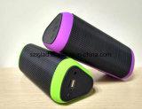 새로운 도착! 360 도 다채로운 LED 가벼운 입체 음향 무선 휴대용 Subwoofer Bluetooth 스피커