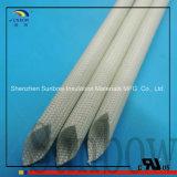 Sunbow 1.2kv 5mmおよび8mm IDのシリコーンのガラス繊維のスリーブを付けること