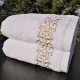 高品質の100%年の綿のテリーの浴室タオルの製造業者