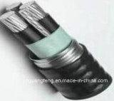 Zb-Acwu90 XLPE a isolé PVC engainé, câble auto-bloqueur de la bande AAAC d'alliage d'aluminium