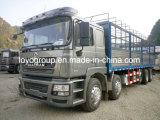 Carro del cargo del carro del camión de la estaca de Shacman F3000 10X4 para la promoción