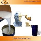 Borracha de silicone RTV-2 para o molde que faz pelo método da escovadela